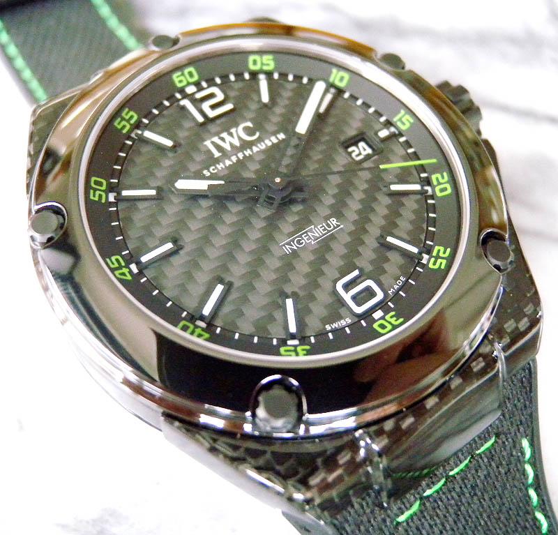 innovative design 2d61f 7b1b6 IWC インヂュニア オートマチック カーボンパフォーマンス ...