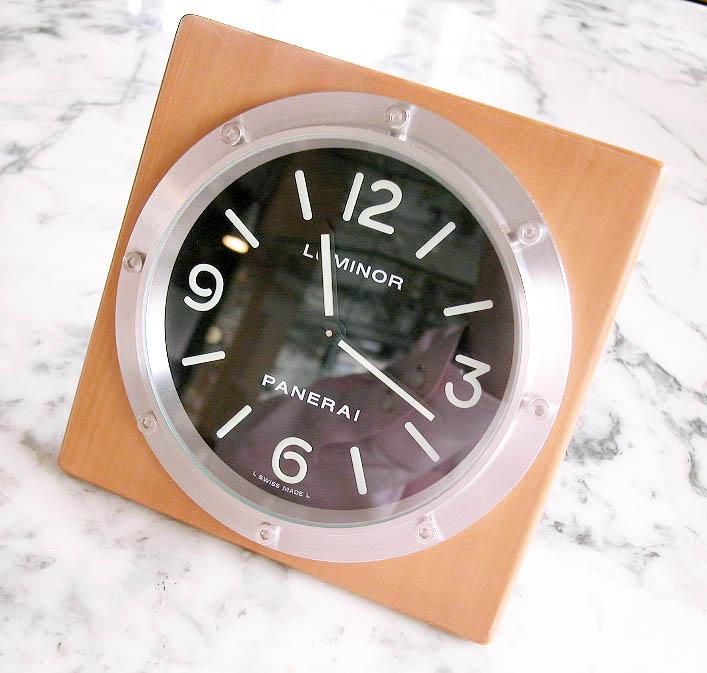 watch 32157 43bba パネライ ルミノール掛け時計 PANERAI pam00151