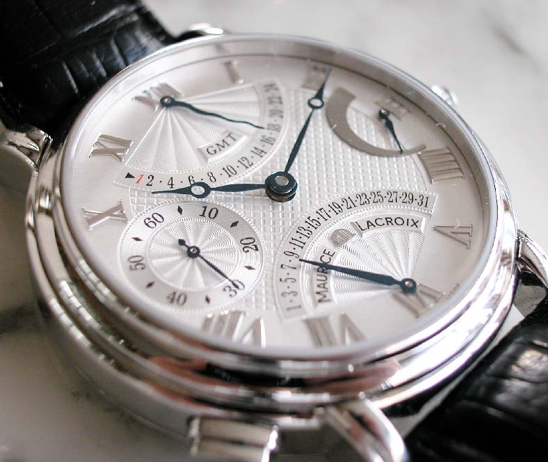 maurice lacroix watch instruction manual